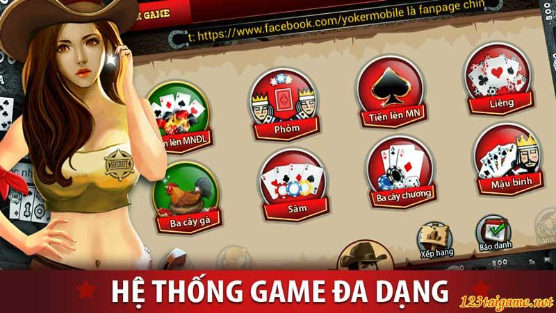 the loai game danh bai casino truc tuyen