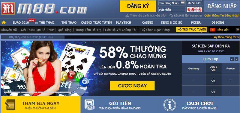 casino trực tuyến cho sms