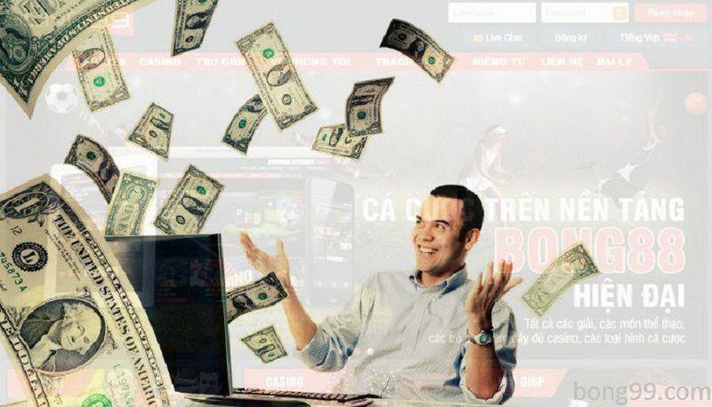 Rút tiền từ tài khoản cá cược 12bet