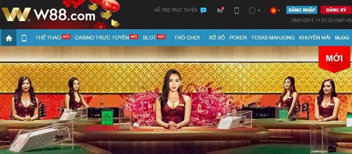 Những nhà cái casino online được chọn chơi nhiều nhất