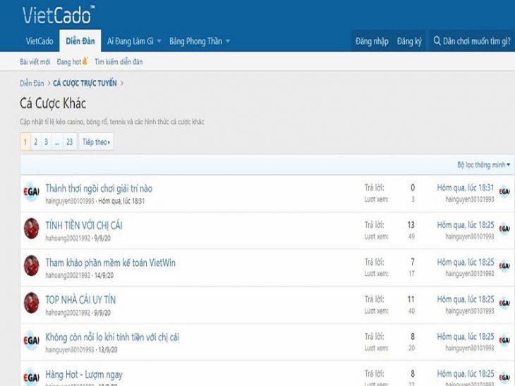 Top 2 diễn đàn casino trực tuyến tại Việt Nam