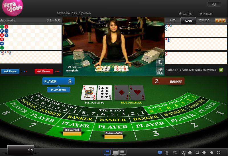 Những trò nên chơi tại casino