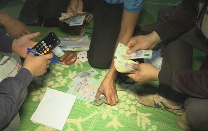 Triệt phá ổ đánh bạc ở trên đồi vắng tại Lạng Sơn